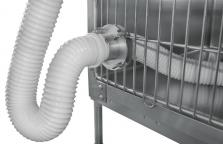 Guida per tubazione riscaldamento per gabbie SHOR-LINE