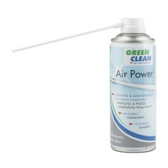 Spray pulitore e lubrificante ad aria compressa.