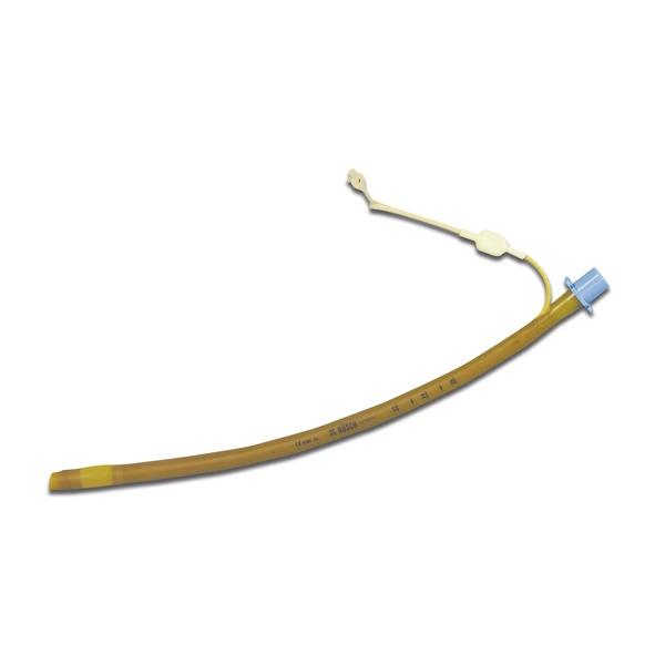 Tubo endotracheale in silicone con mandrino e cuffia