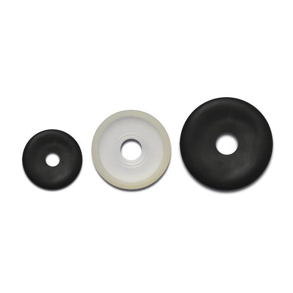 Gomme di ricambio per maschere per anestesia in plexiglas