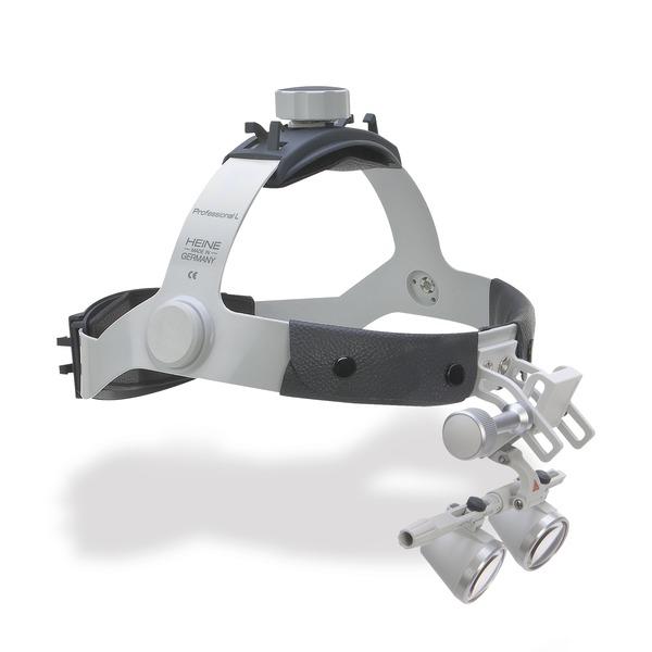 Occhialini binoculari HEINE® su caschetto Professional L