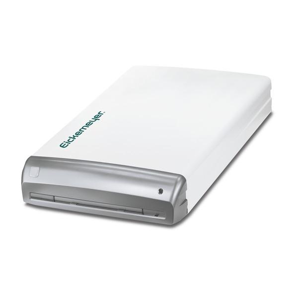 Sistema digitale indiretto DigiVet® CR Reader Pacchetto completo Premium: 24 mesi di garanzia sui componenti, 2 cassette e montaggio a parete, Supporto Software (solo in lingua inglese / obbligatorio): € 25.- / mese